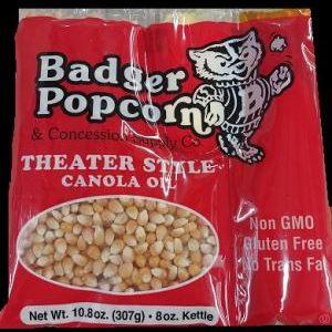 8 oz Canola Oil BP Popcorn Kits, 24/case