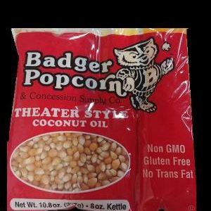 8 oz Coconut Oil BP Popcorn Kits, 24/case