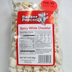 Badger 2 oz Spicy White Cheddar, 48/case