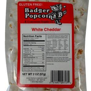 Badger 2 oz White Cheddar, 24/case