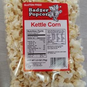 Badger 2.5 oz Kettle Corn, 24/case