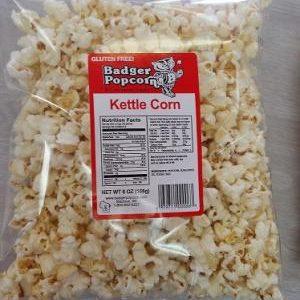 Badger 6 oz Kettle Corn, 20/case