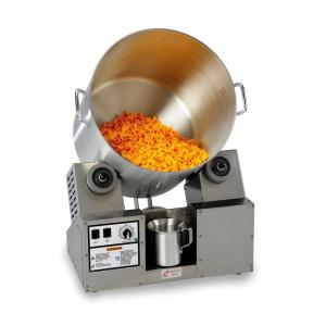Cheddar Tumbler/Coater with Hot Plate & Heat Lamp (8 gal.)