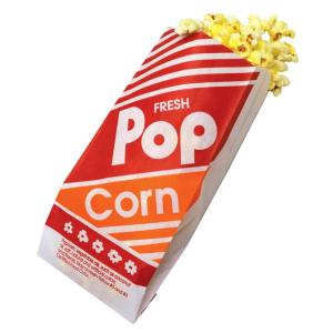 Gusetted #3 Popcorn Bags, 1000/case